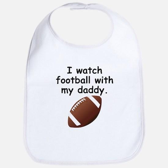 Football With Daddy Bib