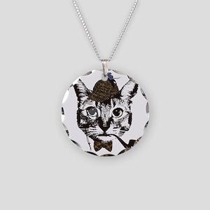 Shercat Holmes Necklace Circle Charm