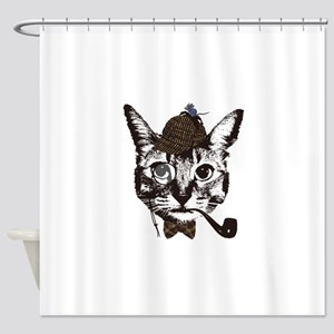 Shercat Holmes Shower Curtain