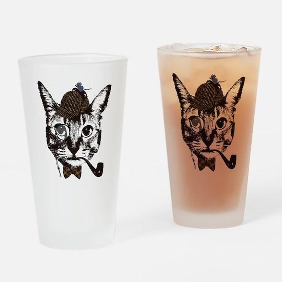 Shercat Holmes Drinking Glass