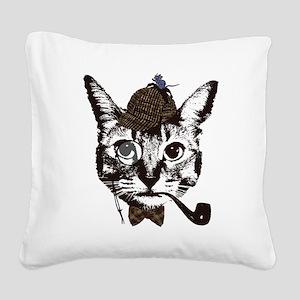 Shercat Holmes Square Canvas Pillow