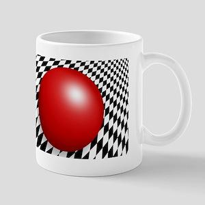 Abstract with Red Mug