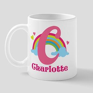 Personalized C Monogram Mugs