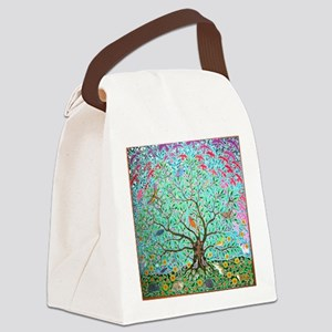 Tree of Life Canvas Lunch Bag