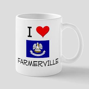 I Love FARMERVILLE Louisiana Mugs