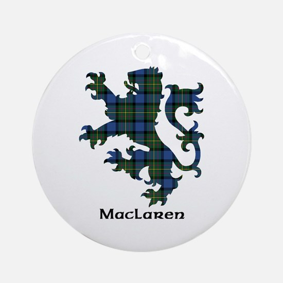 Lion - MacLaren Ornament (Round)