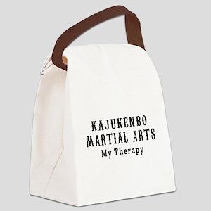 Kajukenbo Martial Art My Therapy Canvas Lunch Bag