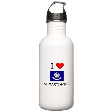 I Love ST. MARTINVILLE Louisiana Water Bottle