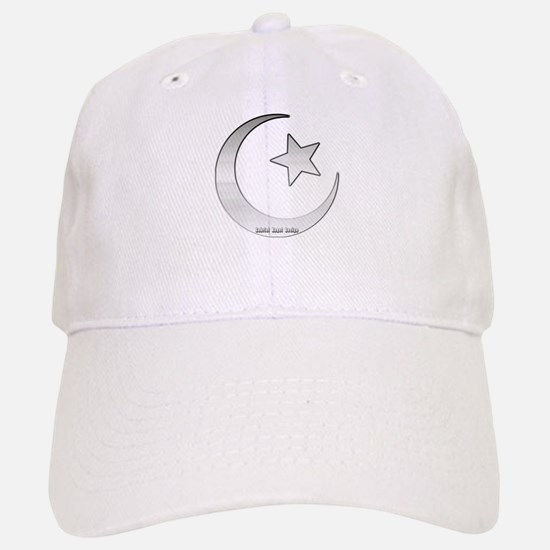 Silver Star and Crescent Baseball Baseball Cap