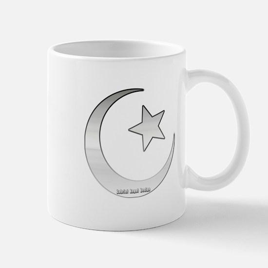 Silver Star and Crescent Mug