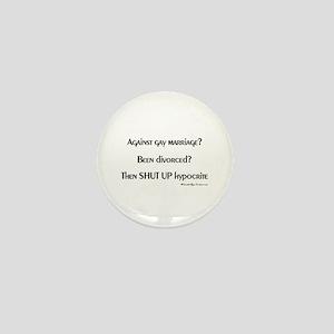 Divorced Dimwits Mini Button