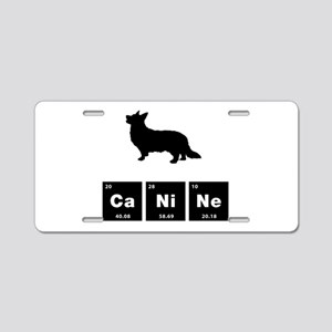 Cardigan Welsh Corgi Aluminum License Plate