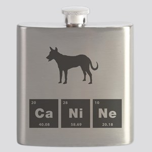 Carolina Dog Flask