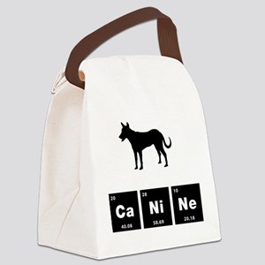 Carolina Dog Canvas Lunch Bag
