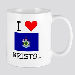 I Love Bristol Maine Mugs