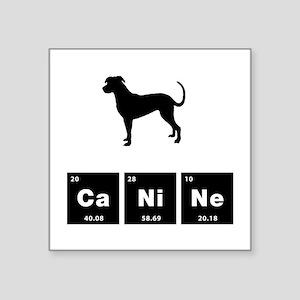 "Catahoula Leopard Dog Square Sticker 3"" x 3"""