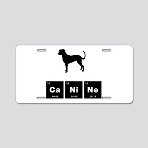 Catahoula Leopard Dog Aluminum License Plate