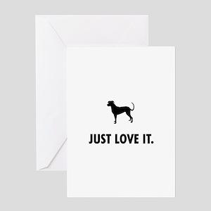 Catahoula Leopard Dog Greeting Card