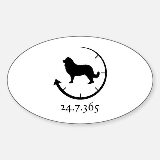 Caucasian Ovcharka Sticker (Oval)