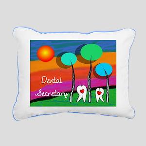 Dental Secretary Rectangular Canvas Pillow