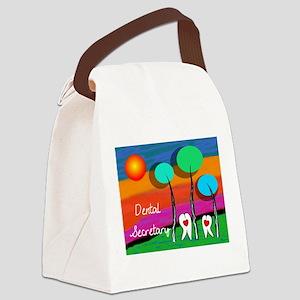 Dental Secretary Canvas Lunch Bag