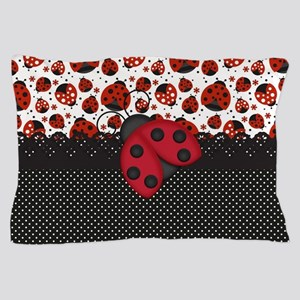 Pawn Ladybugs Pillow Case