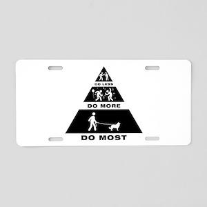 Caucasian Ovcharka Aluminum License Plate