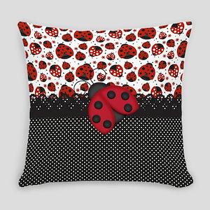 Pawn Ladybugs Everyday Pillow