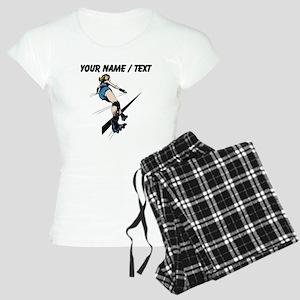 Custom Roller Derby pajamas