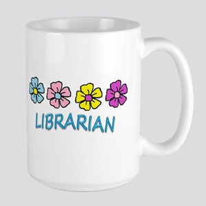 Librarian Flowers Mugs