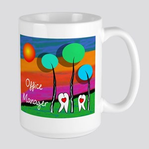 Dental Office Manager Mugs
