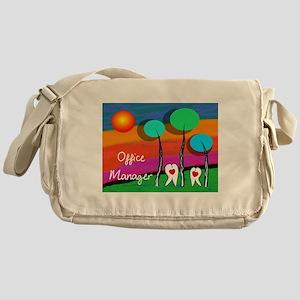 Dental Office Manager Messenger Bag