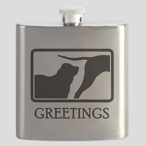 Central Asian Shepherd Flask