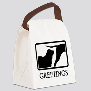 Central Asian Shepherd Canvas Lunch Bag