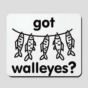 got walleye? Mousepad