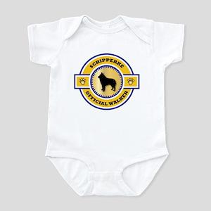 Schipperke Walker Infant Bodysuit