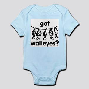 got walleye? Infant Bodysuit