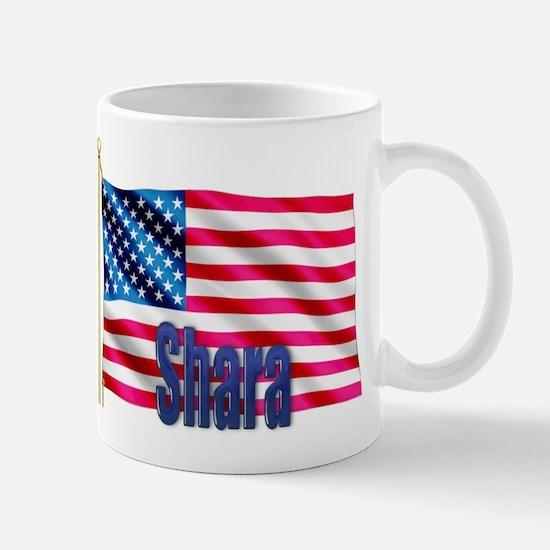Shara American Flag Gift Mug