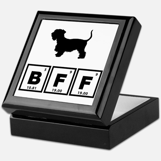 Cesky Terrier Keepsake Box