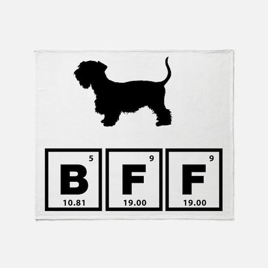Cesky Terrier Throw Blanket