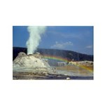 Castle Geyser Rainbow, Yellowstone, Magnet (10)