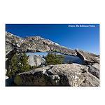Yosemite's Indian Rock arch (8 postcards)