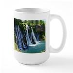 Burney Falls, California, Large Mug