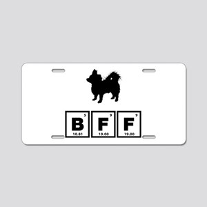 Chihuahua Longhaired Aluminum License Plate