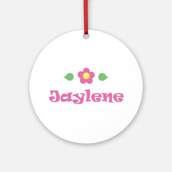 "Pink Daisy - ""Jaylene"" Ornament (Round)"