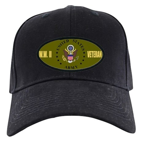 World War II Veteran<BR>Black Cap