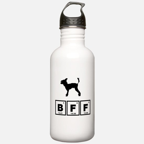 Chinese Crested Dog Water Bottle