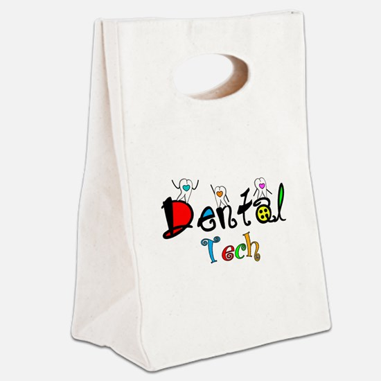 Dental tech 2 Canvas Lunch Tote