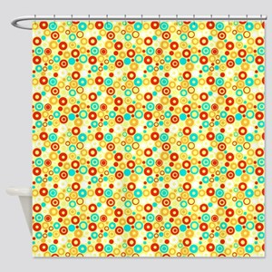 Cercles Shower Curtain