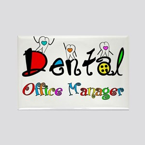 Dental Office Manager 2 Magnets